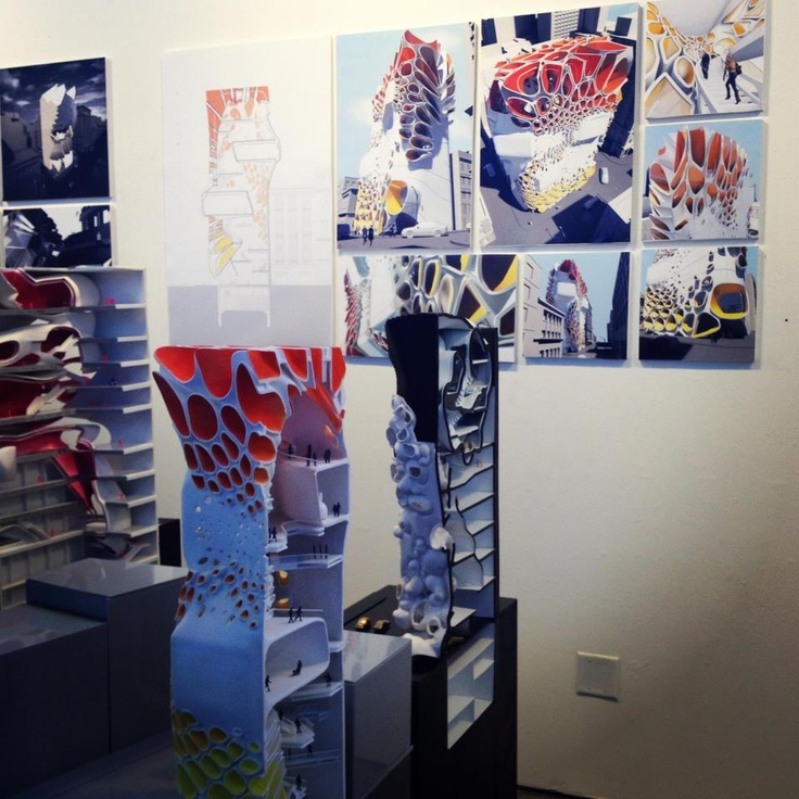 SCI-Arc Final thesis and start of Spring Show