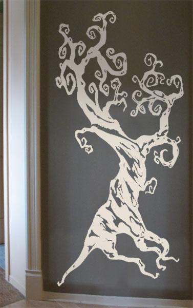 #autocollants #decalques #wall stickers #decals Arbre dans le style de Tim Burton / Tim Burton's style tree. $57.95