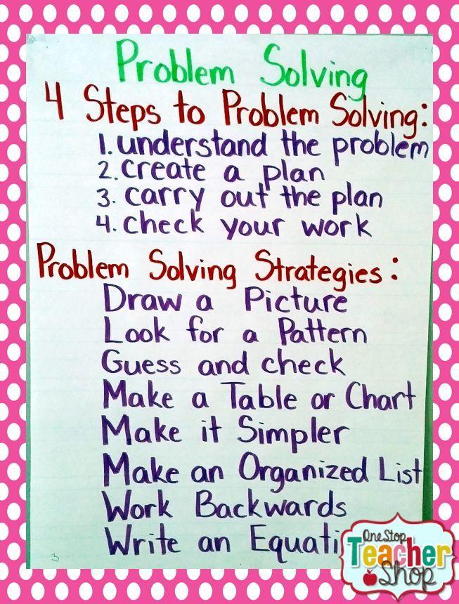 19 best Problem Solving images on Pinterest   Math problem solving ...