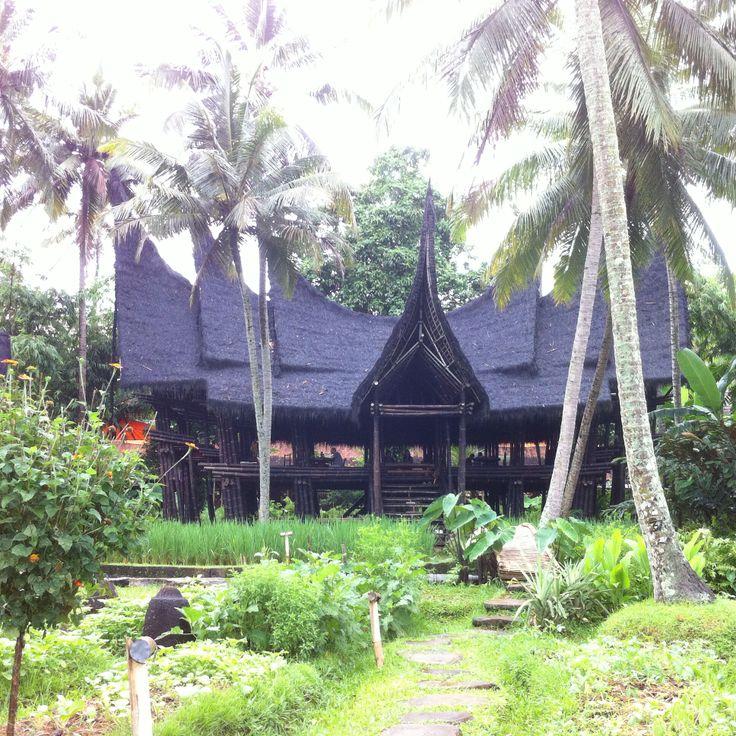 Minangkabau house, center of bambu indah's heart #iPhone #NoFilter
