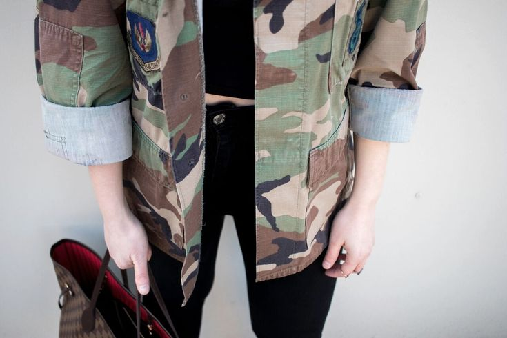 Camouflage Outfit Green Louis Vuitton Neverfull Bag