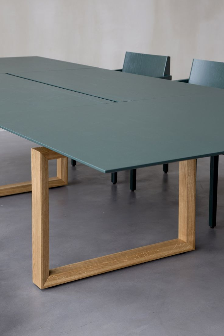 Modular rectangular meeting table In-Tensive Collection by Inno Interior Oy | design Jouni Leino
