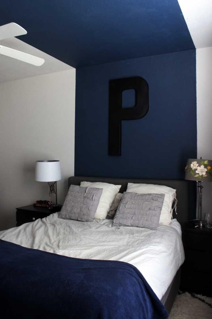 Navy Blue Gray Bedroom Ideas Inspiration Bedrooms