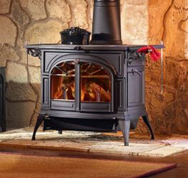 Defiant Catalytic And Non Catalytic Cast Iron Wood Stoves