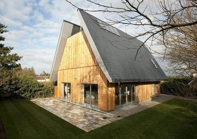 Modest Home Images renovated residential house on a street modest family house on sunny day Hoo House In Woodbridge Aka Grand Designs Modest Home East Anglian Daily Times Strawbale Weatherboard Pinterest Home Love And Grand Designs