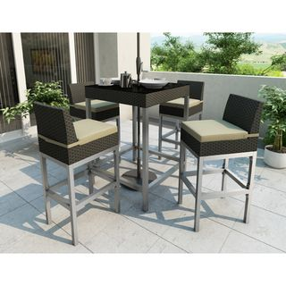 Bar Height Patio Sets - Outdoor dining for any style - Sonax Lakeside Bar Height Patio Set