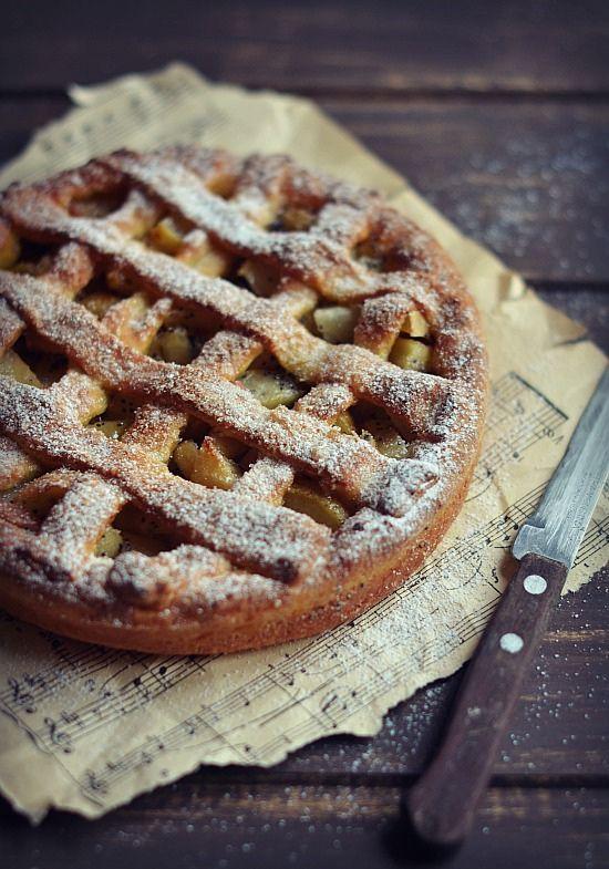 pears, apples and poppy pie.....   by sonja-ksu