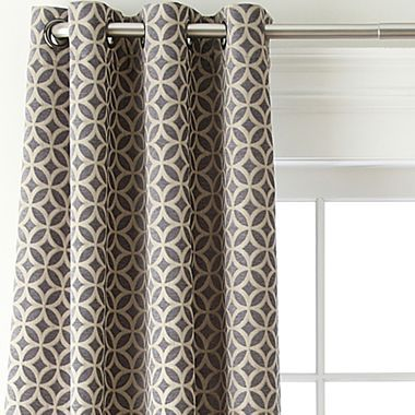 Studio Hudson Grommet Top Curtain Panel Jcpenney For