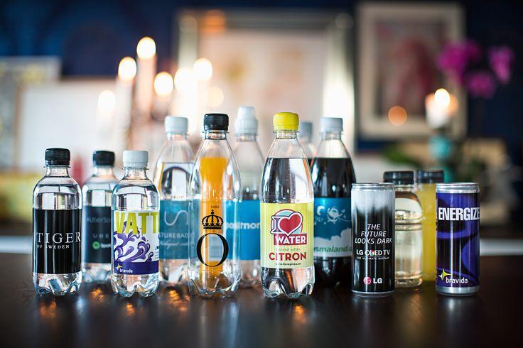 Ett brett produktsortiment medför att det finns profilerad dryck för alla tillfällen!
