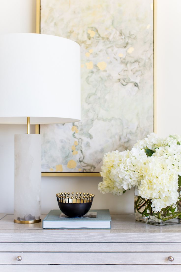 Blush, gold and peony-filled... yes, please!