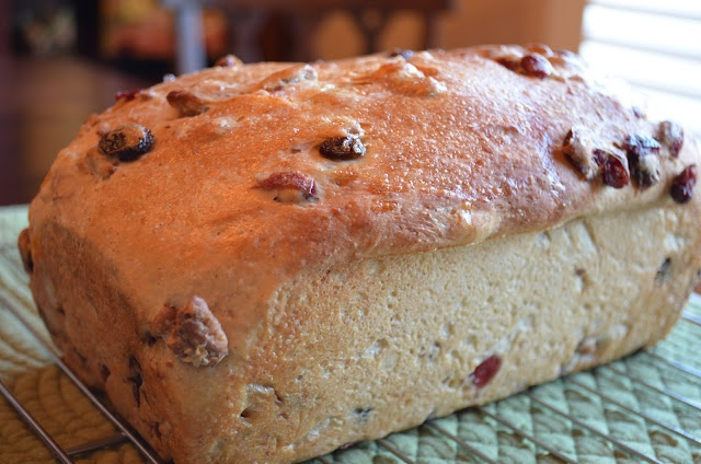 For those who have ever had and love the Breakfast Bread at the Publix Groceries ... a Fruit & Nut Breakfast Bread recipe (similar to Publix Breakfast bread).