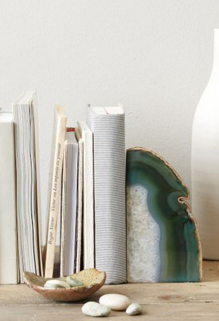 Agate Bookends | West Elm