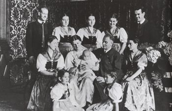 """The von Trapps  escaped from Nazi occupied Austria,  travelling by train to Italy, and then to New York. They settled in America  and bought a piece of land on top of Luce Hill, in Stowe, Vermont,  reminiscent of  their beloved Austria. They sang for  a living , toured throughout America and thirty countries. Their  home in Vermont is now a resort known as The von Trapp Family Lodge. It is one of Vermont's most popular tourist destinations. The movie, """"Sound of Music"""" is inspired by this…"""