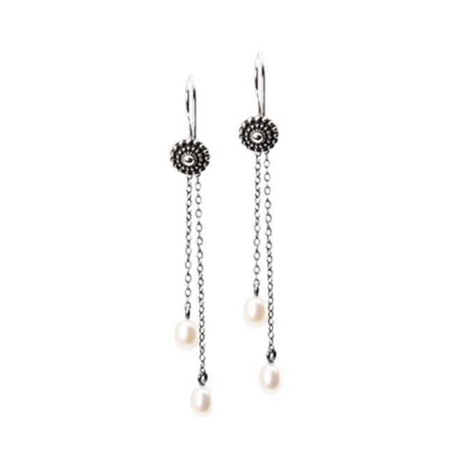 Trollbeads Fancy Drops Earring Accessory