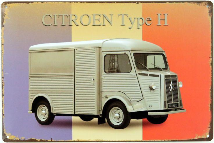 Déco rétro Citroën Type H