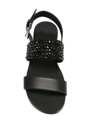 Giuseppe Zanotti Design Sandalen mit Verzierungen
