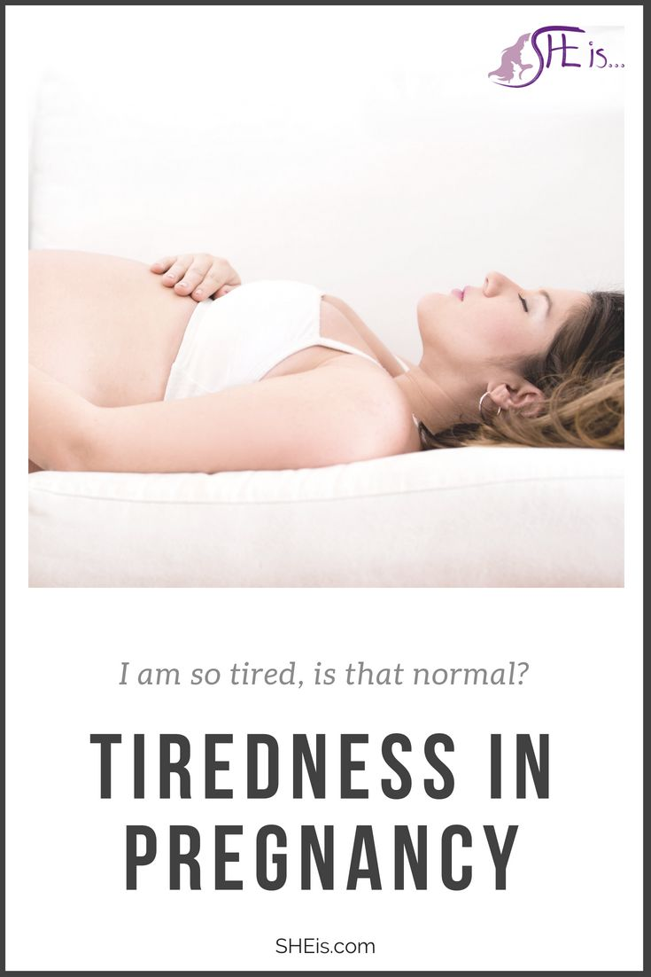 Is it normal to be so tired during pregnancy? Hear from ...