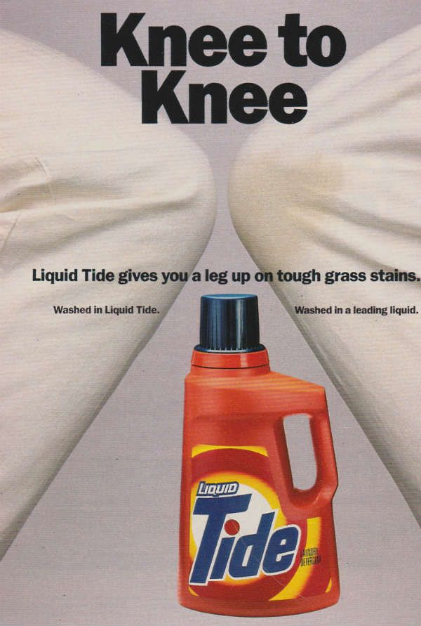 Liquid Tide Detergent Vintage Ad from 1987 - Retro Ramblings