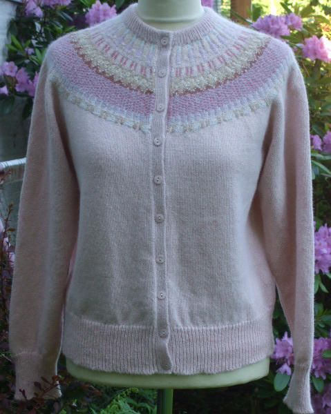 Bohus Rose cardigan by Solveig Gustafsson. Classic. My absolute favorite!