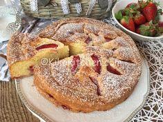Torta mascarpone e fragole. Soffice e senza burro. | Kikakitchen