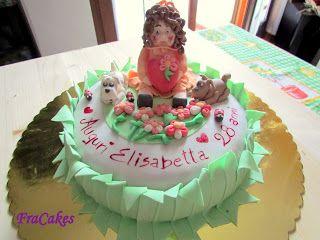 Cake Design Prato : cake design: Torta compleanno Elisabetta questa e la torta ...