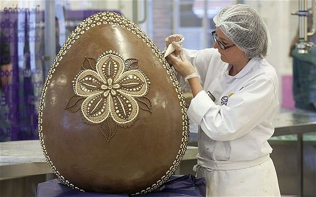 From a story about falling cocoa prices in The Telegraph/UK (link: http://www.telegraph.co.uk/finance/newsbysector/retailandconsumer/9187393/Easter-Cocoa-prices-are-falling-so-why-is-your-chocolate-egg-more-expensive.html)