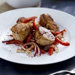 Pork Tenderloin with Bell Pepper