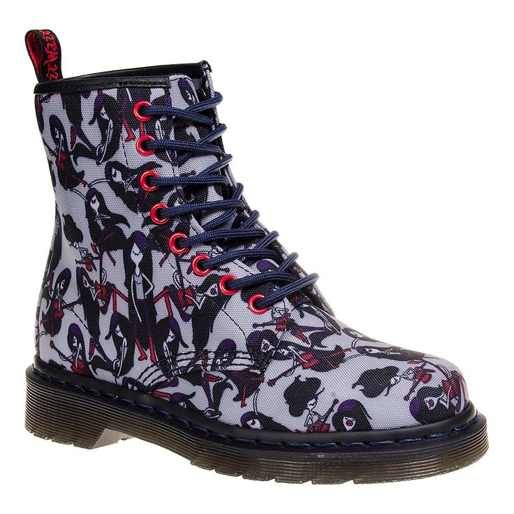 Dr Martens X Adventure Time Marceline Castel Boots (Multicoloured)