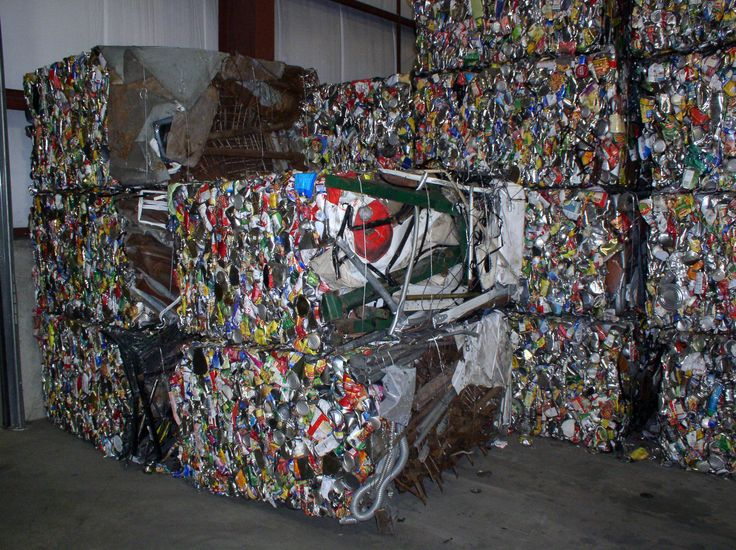 aluminium  and steel recycling