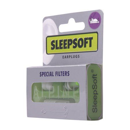 Alpine Sleepsoft Earplugs - White