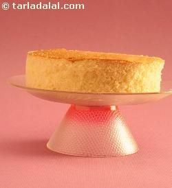 eggless sponge cake   can be use as a base for many other desserts like pineapple gateau, orange gateau, almond praline cake etc.