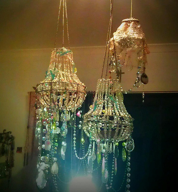 chandeliers from All Things Pretty, Debra Dorgan