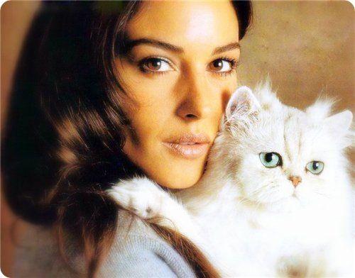 With Monica Bellucci