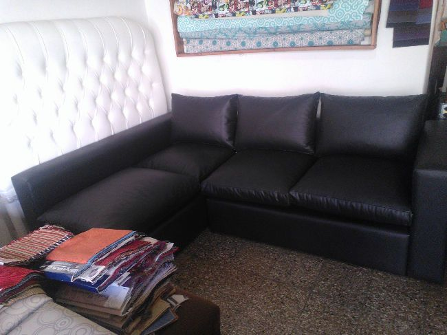 oferta esquineros rinconeros sillon sofa adrian tapizado cuerina chenille ecocuero tela | Monte Castro | alaMaula | 108394411