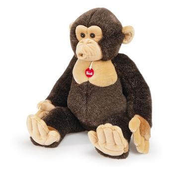 Scimpanzè EvaristoPeluchewww.shoptrudi.it  Trudi diventa cartoon!  Una miniserie animata di 6 pillole da 1 minuto per la TV dedicata ai personaggi Trudi: l'orso Ettore, il coniglio Virgilio, il cane Marcus, la foca Lucy, lo scimpanzè Evaristo, il gufo Rinaldo.