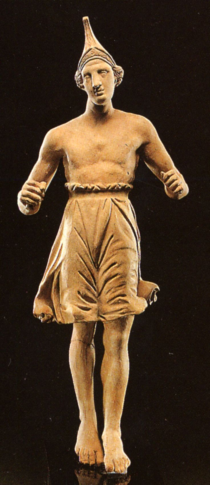 Statue of dancer, discovered in an Amphipolis tomb, now in the Kavala museum