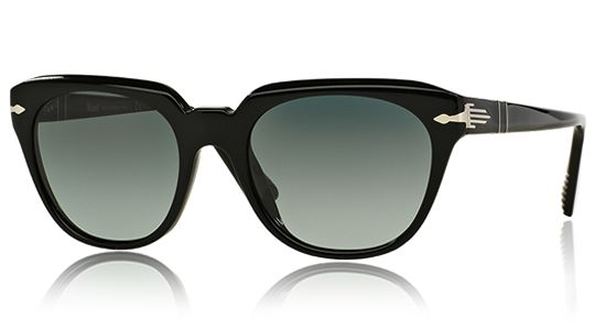 Persol PO3111S 95/71 Crystal |   Film Noir Edition | Suprema  | Dark gray faded anti-glare treatment | Black | Crystal |  Acetate