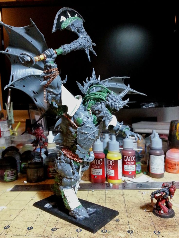 Dark Future Games: Angron Daemon Primarch Conversion: The Best I Have Seen!