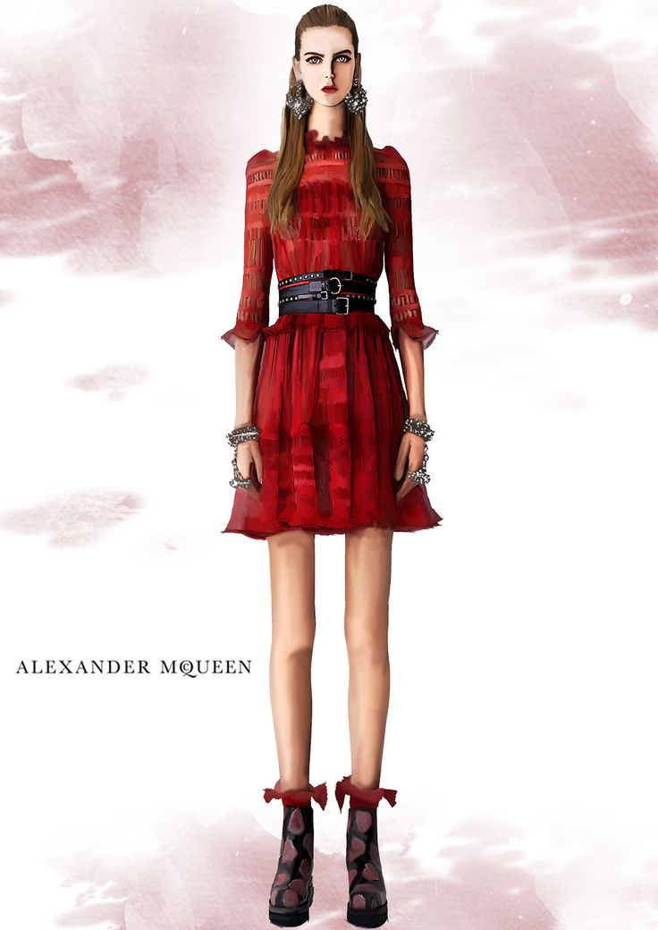 Alexander McQueen on Behance