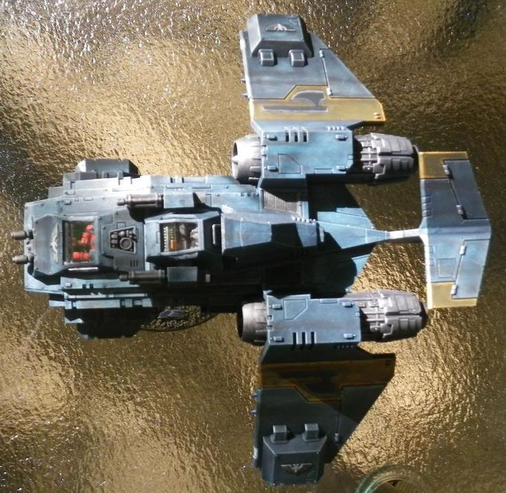 Fourth Company Librarium: Space Marine Codex Review: Stormraven Gunship