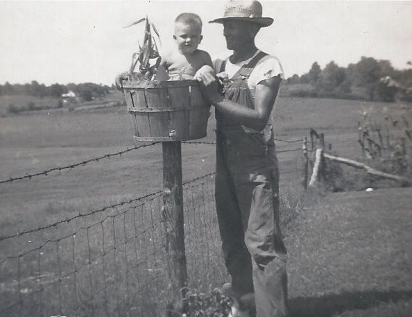 Tink Gillim with his nephew Bobby Swope