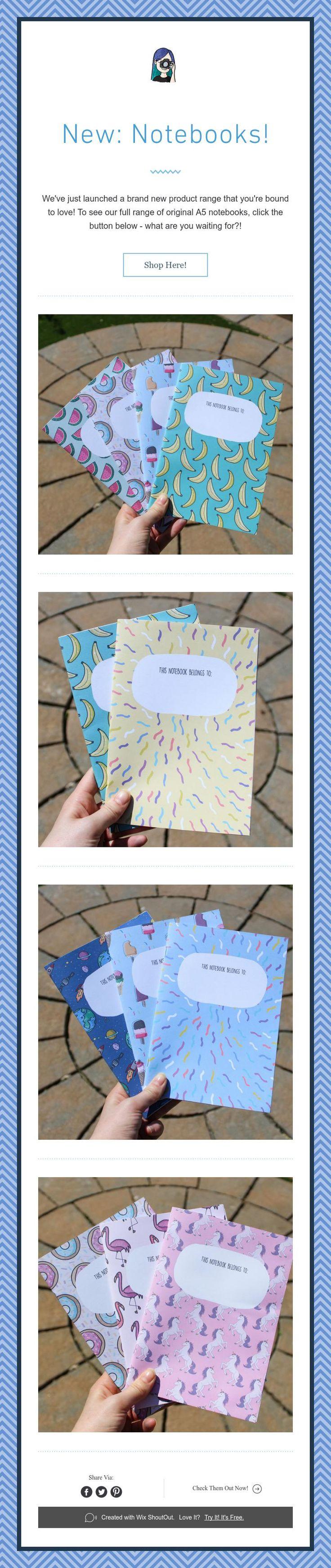 New: Notebooks!