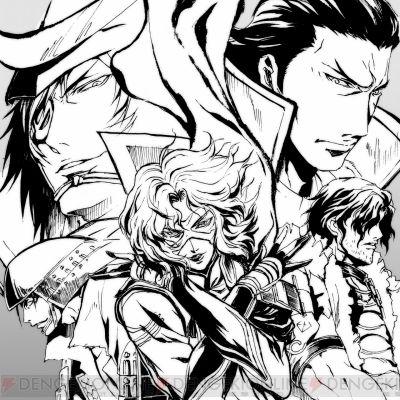 『戦国BASARAマガジン』Masamune, Hanbei, Kojuro, Kanbei, Matabei