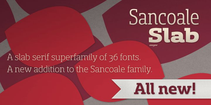 Sancoale Slab™ - Slab serif addition to the Sancoale family (sans serif, softened, slab and narrow). Tastes like Sommet, also from insigne http://insignedesign.com