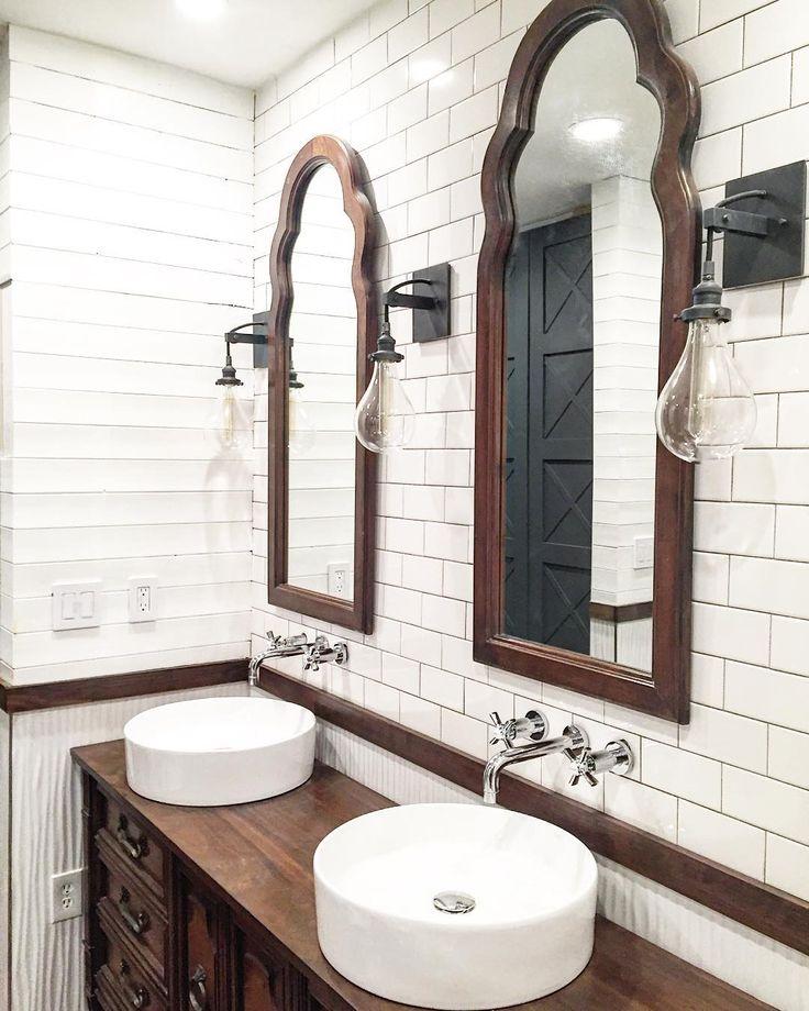 Rustic Farmhouse Bathroom Ideas: 327 Best Images About DESIGN