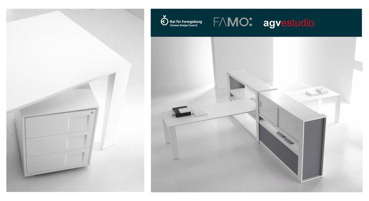 Nominación de la colección Mahia de la empresa portuguesa Famo , en los premios alemanes Germany Design Award .