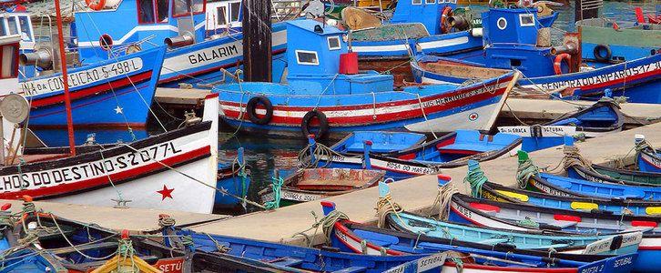 fishing boats setubal portugal - Google Search