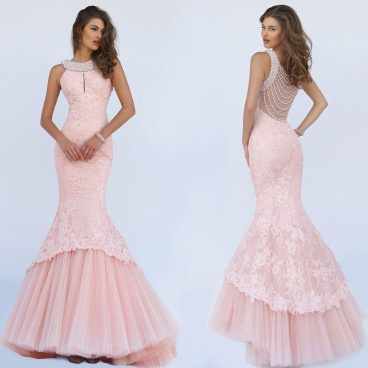 Sherri Hill Lace Mermaid Dress