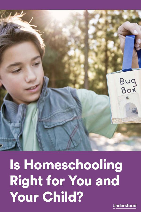 The pros and cons of #homeschooling and tips on how to decide if it's the right choice for a child with learning and attention issues