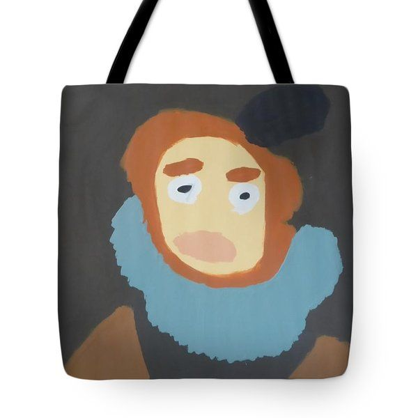 Patrick Francis - Tote Bag featuring the painting Portrait Of Maria Anna 2015 - After Diego Velazquez by Patrick Francis